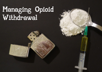 Dr Jason Hine: Managing Opioid Withdrawal